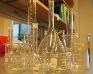 Science is Fun! But there's more to it than fancy glassware. (Image © Derek Simon 2015)
