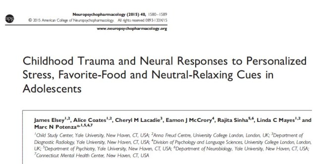 Elsey et al. Neuropsychopharm. 2015