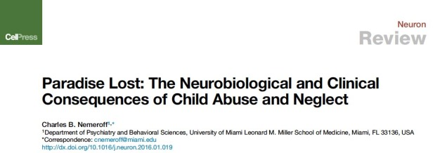 good titles for child abuse papers Read chapter 1 introduction: the tragedy of child abuse and neglect is in the forefront of public attention yet, without a conceptual framework, resear.