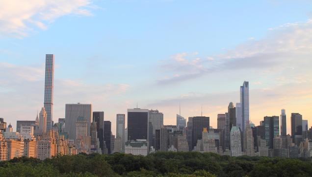 Good-bye NYC! (Photo © Derek Simon 2015)